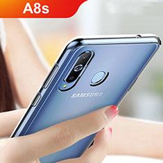 Silikon Schutzhülle Ultra Dünn Tasche Durchsichtig Transparent T05 für Samsung Galaxy A8s SM-G8870 Klar