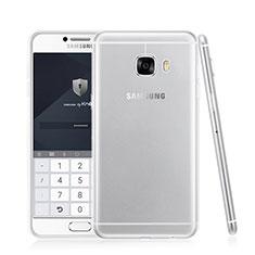 Silikon Schutzhülle Ultra Dünn Tasche Durchsichtig Transparent T05 für Samsung Galaxy C7 SM-C7000 Klar