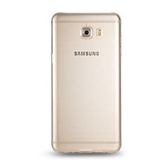 Silikon Schutzhülle Ultra Dünn Tasche Durchsichtig Transparent T05 für Samsung Galaxy C9 Pro C9000 Klar