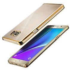 Silikon Schutzhülle Ultra Dünn Tasche Durchsichtig Transparent T05 für Samsung Galaxy Note 5 N9200 N920 N920F Klar