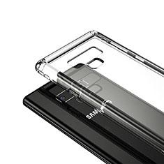 Silikon Schutzhülle Ultra Dünn Tasche Durchsichtig Transparent T05 für Samsung Galaxy Note 9 Klar