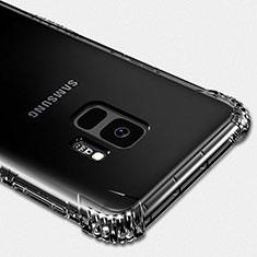 Silikon Schutzhülle Ultra Dünn Tasche Durchsichtig Transparent T05 für Samsung Galaxy S9 Klar