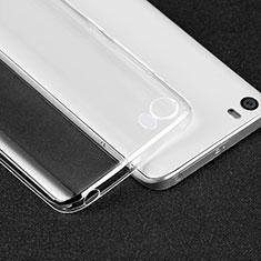 Silikon Schutzhülle Ultra Dünn Tasche Durchsichtig Transparent T05 für Xiaomi Mi 5 Klar