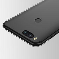 Silikon Schutzhülle Ultra Dünn Tasche Durchsichtig Transparent T05 für Xiaomi Mi A1 Klar