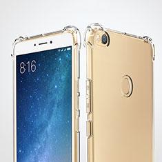 Silikon Schutzhülle Ultra Dünn Tasche Durchsichtig Transparent T05 für Xiaomi Mi Max 2 Klar