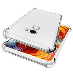 Silikon Schutzhülle Ultra Dünn Tasche Durchsichtig Transparent T05 für Xiaomi Mi Mix 2 Klar