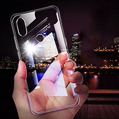Silikon Schutzhülle Ultra Dünn Tasche Durchsichtig Transparent T05 für Xiaomi Mi Mix 3 Klar