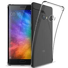 Silikon Schutzhülle Ultra Dünn Tasche Durchsichtig Transparent T05 für Xiaomi Mi Note 2 Special Edition Klar