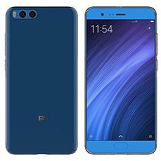 Silikon Schutzhülle Ultra Dünn Tasche Durchsichtig Transparent T05 für Xiaomi Mi Note 3 Grau
