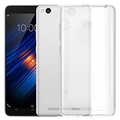 Silikon Schutzhülle Ultra Dünn Tasche Durchsichtig Transparent T05 für Xiaomi Redmi 3X Klar