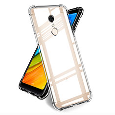 Silikon Schutzhülle Ultra Dünn Tasche Durchsichtig Transparent T05 für Xiaomi Redmi 5 Plus Klar