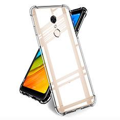 Silikon Schutzhülle Ultra Dünn Tasche Durchsichtig Transparent T05 für Xiaomi Redmi Note 5 Indian Version Klar