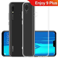 Silikon Schutzhülle Ultra Dünn Tasche Durchsichtig Transparent T06 für Huawei Enjoy 9 Plus Klar