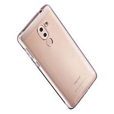 Silikon Schutzhülle Ultra Dünn Tasche Durchsichtig Transparent T06 für Huawei Honor 6X Klar