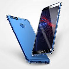 Silikon Schutzhülle Ultra Dünn Tasche Durchsichtig Transparent T06 für Huawei Honor 7X Klar