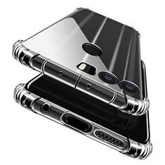 Silikon Schutzhülle Ultra Dünn Tasche Durchsichtig Transparent T06 für Huawei Honor 8 Klar