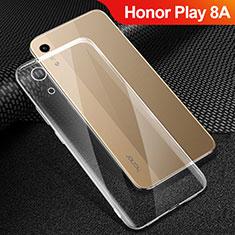 Silikon Schutzhülle Ultra Dünn Tasche Durchsichtig Transparent T06 für Huawei Honor Play 8A Klar