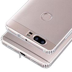 Silikon Schutzhülle Ultra Dünn Tasche Durchsichtig Transparent T06 für Huawei Honor V8 Klar
