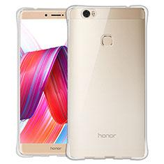 Silikon Schutzhülle Ultra Dünn Tasche Durchsichtig Transparent T06 für Huawei Honor V8 Max Klar