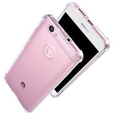 Silikon Schutzhülle Ultra Dünn Tasche Durchsichtig Transparent T06 für Huawei Nova Klar