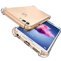 Silikon Schutzhülle Ultra Dünn Tasche Durchsichtig Transparent T06 für Huawei P Smart Klar