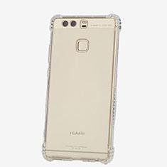 Silikon Schutzhülle Ultra Dünn Tasche Durchsichtig Transparent T06 für Huawei P9 Plus Klar