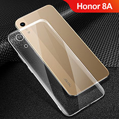 Silikon Schutzhülle Ultra Dünn Tasche Durchsichtig Transparent T06 für Huawei Y6 Prime (2019) Klar