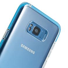 Silikon Schutzhülle Ultra Dünn Tasche Durchsichtig Transparent T06 für Samsung Galaxy S8 Plus Klar