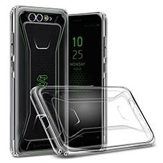 Silikon Schutzhülle Ultra Dünn Tasche Durchsichtig Transparent T06 für Xiaomi Black Shark Klar