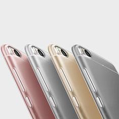 Silikon Schutzhülle Ultra Dünn Tasche Durchsichtig Transparent T06 für Xiaomi Mi 5S Klar