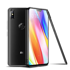 Silikon Schutzhülle Ultra Dünn Tasche Durchsichtig Transparent T06 für Xiaomi Mi 8 Klar