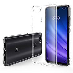 Silikon Schutzhülle Ultra Dünn Tasche Durchsichtig Transparent T06 für Xiaomi Mi 8 Lite Klar