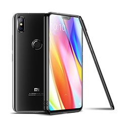 Silikon Schutzhülle Ultra Dünn Tasche Durchsichtig Transparent T06 für Xiaomi Mi 8 SE Klar