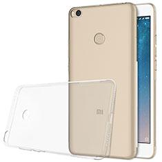 Silikon Schutzhülle Ultra Dünn Tasche Durchsichtig Transparent T06 für Xiaomi Mi Max 2 Klar