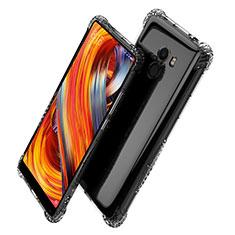 Silikon Schutzhülle Ultra Dünn Tasche Durchsichtig Transparent T06 für Xiaomi Mi Mix 2 Klar