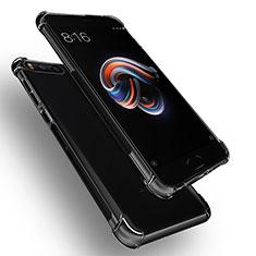 Silikon Schutzhülle Ultra Dünn Tasche Durchsichtig Transparent T06 für Xiaomi Mi Note 3 Klar