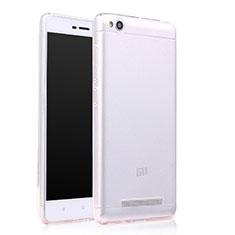Silikon Schutzhülle Ultra Dünn Tasche Durchsichtig Transparent T06 für Xiaomi Redmi 4A Klar