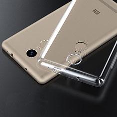 Silikon Schutzhülle Ultra Dünn Tasche Durchsichtig Transparent T06 für Xiaomi Redmi Note 3 Pro Klar