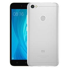 Silikon Schutzhülle Ultra Dünn Tasche Durchsichtig Transparent T06 für Xiaomi Redmi Y1 Klar