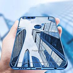 Silikon Schutzhülle Ultra Dünn Tasche Durchsichtig Transparent T07 für Huawei Honor 7X Klar