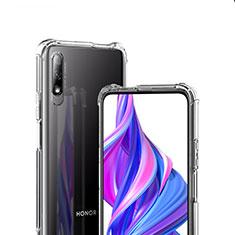 Silikon Schutzhülle Ultra Dünn Tasche Durchsichtig Transparent T07 für Huawei Honor 9X Klar