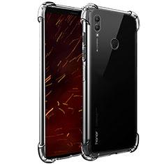 Silikon Schutzhülle Ultra Dünn Tasche Durchsichtig Transparent T07 für Huawei Honor Note 10 Klar
