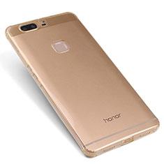 Silikon Schutzhülle Ultra Dünn Tasche Durchsichtig Transparent T07 für Huawei Honor V8 Gold
