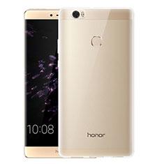 Silikon Schutzhülle Ultra Dünn Tasche Durchsichtig Transparent T07 für Huawei Honor V8 Max Klar