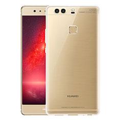 Silikon Schutzhülle Ultra Dünn Tasche Durchsichtig Transparent T07 für Huawei P9 Klar