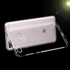 Silikon Schutzhülle Ultra Dünn Tasche Durchsichtig Transparent T07 für Huawei Y6 Pro (2017) Klar