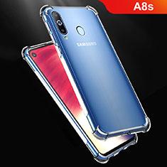 Silikon Schutzhülle Ultra Dünn Tasche Durchsichtig Transparent T07 für Samsung Galaxy A8s SM-G8870 Klar