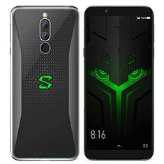 Silikon Schutzhülle Ultra Dünn Tasche Durchsichtig Transparent T07 für Xiaomi Black Shark Helo Klar