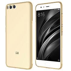 Silikon Schutzhülle Ultra Dünn Tasche Durchsichtig Transparent T07 für Xiaomi Mi 6 Gold