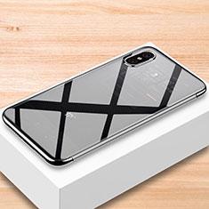 Silikon Schutzhülle Ultra Dünn Tasche Durchsichtig Transparent T07 für Xiaomi Mi 8 Pro Global Version Klar